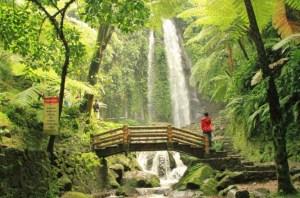 tempat wisata berupa air terjun di solo