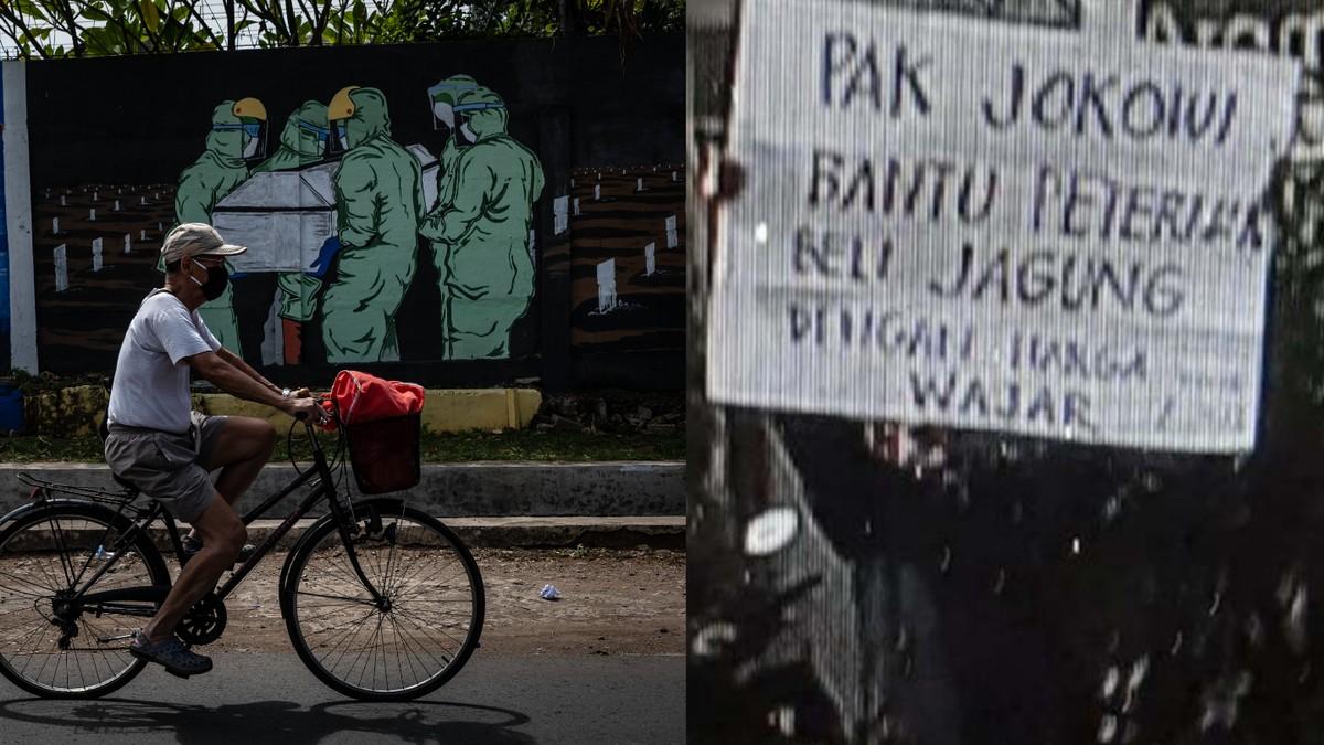 Meski Presiden Mengaku Tak Baper, Nyatanya Aparat Terus Hapus Mural Berisi Kritik